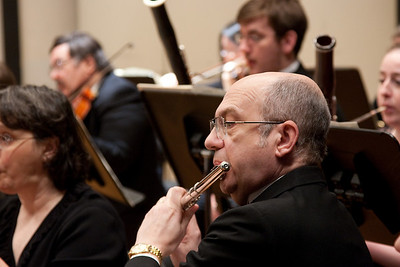 Steve Haaser, flute -- Hopkins Symphony Orchestra, March 2011