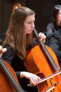 Megan Sweet, cello -- Hopkins Symphony Orchestra, March 2011