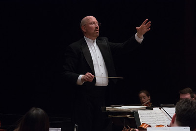 Music Director Jed Gaylin -- Hopkins Symphony Orchestra, April 2017