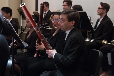 Dan Reich -- Hopkins Symphony Orchestra, April 2017