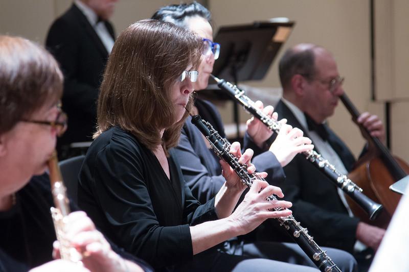 Kim Myers -- Hopkins Symphony Orchestra, April 2017