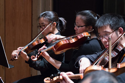 Kai Inoki, Jenna Ballard, Preston Ge -- Hopkins Symphony Orchestra, April 2017