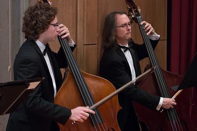Omar Hafez and Paul Madigan -- Hopkins Symphony Orchestra, April 2017