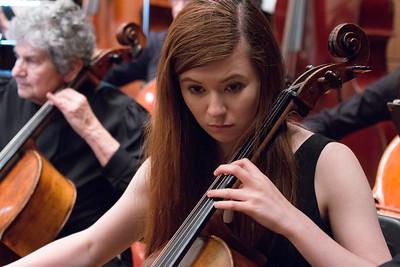 Maddie Slack -- Hopkins Symphony Orchestra, April 2017