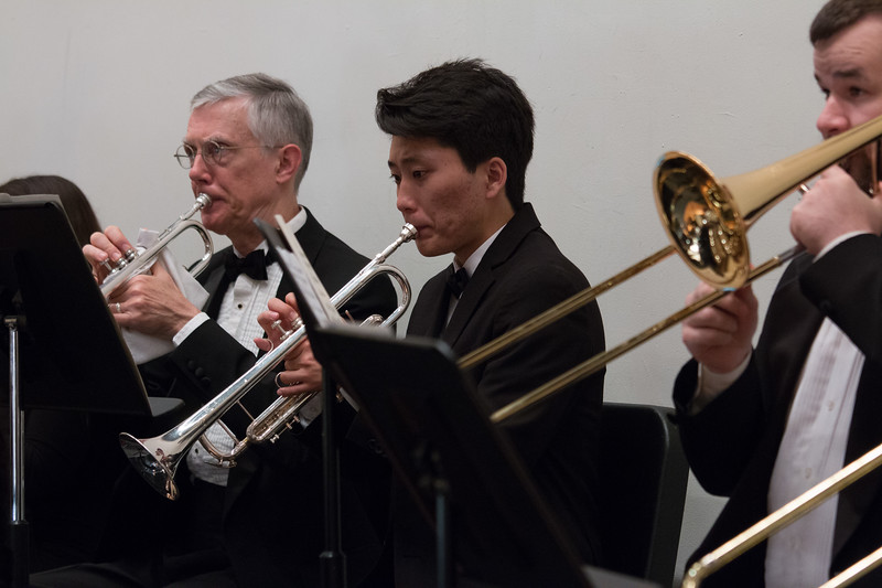 Tom Shields, Chris Pak, John Crotty  -- Hopkins Symphony Orchestra, April 2017
