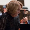Lydia Frumkin, piano soloist for the Schnittke Piano Concerto -- Hopkins Symphony Orchestra, April 2017