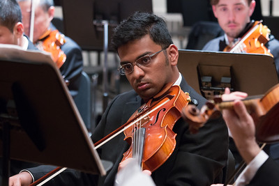 Nikhil Menon -- Hopkins Symphony Orchestra, April 2017