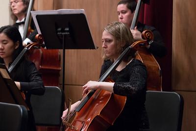 Anna Sliva -- Hopkins Symphony Orchestra, April 2017