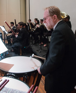 Max Derrickson, timpani  -- Hopkins Symphony Orchestra, April 2017