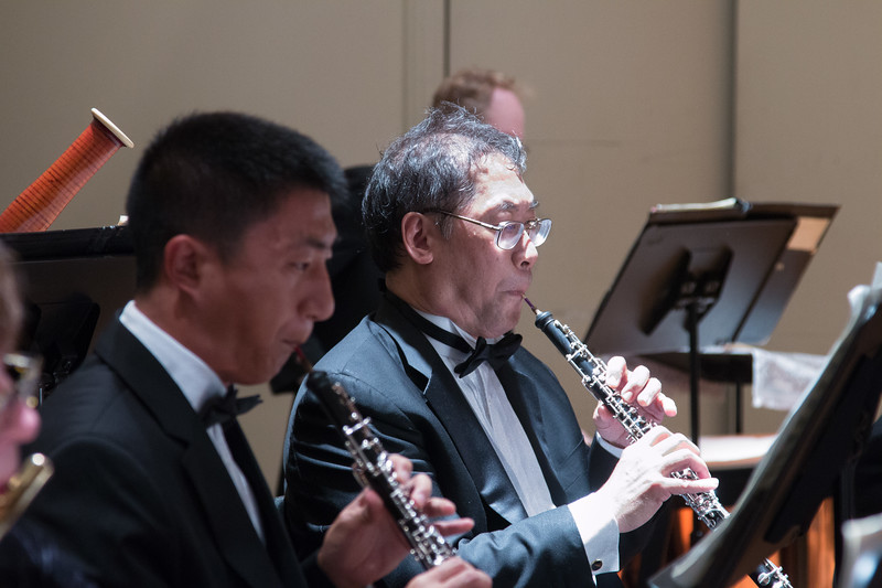 Andrew Zhu, Keith Kaneda -- Hopkins Symphony Orchestra, April 2017