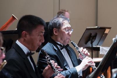 Andrew Zhu, Keith Kaneda -- Hopkins Symphony Orchestra, April 2017