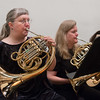 Karen Bakkegard, Natica Losee, horns -- Hopkins Symphony Orchestra, April 2017