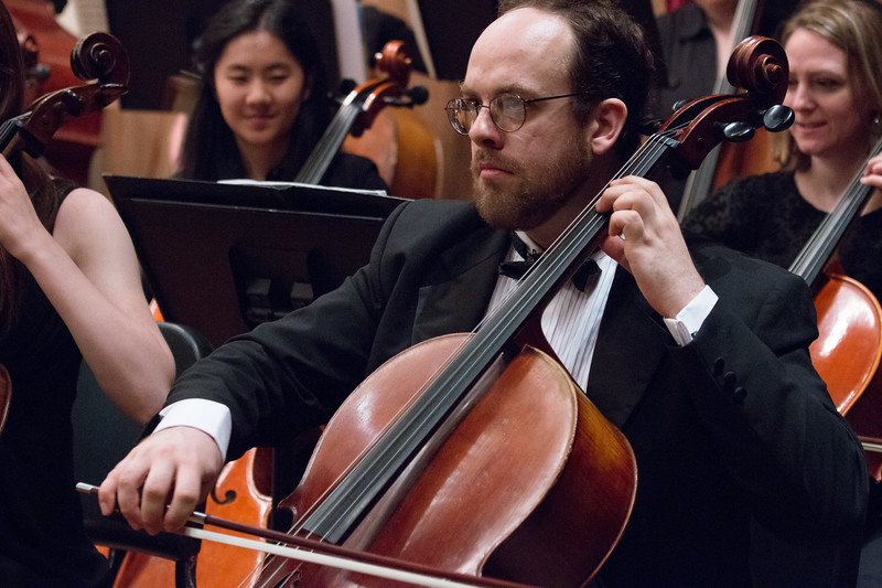 Sam Bacharach -- Hopkins Symphony Orchestra, April 2017