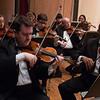 First violins -- Hopkins Symphony Orchestra, April 2017