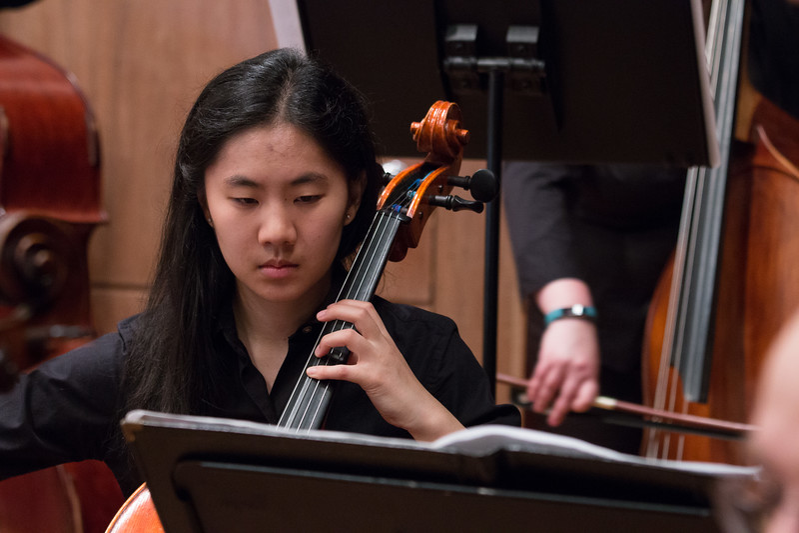Jessica Wu -- Hopkins Symphony Orchestra, April 2017