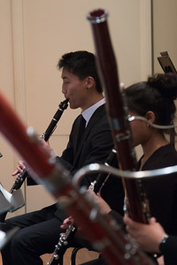 Nathan Ko, clarinet -- Hopkins Symphony Orchestra, April 2017