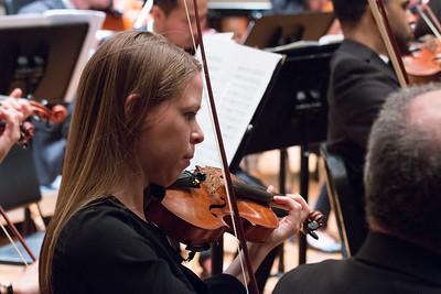 Eleanor Chodroff --Hopkins Symphony Orchestra, April 2017