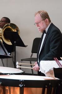 Max Derrickson, timpani  -- Hopkins Symphony Orchestra, April 2017