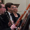 Dan Reich (center) -- Hopkins Symphony Orchestra, April 2017
