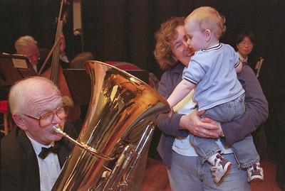 Randy Harrison, tuba, Hopkins Symphony Orchestra Children's Concert  (March 2004)