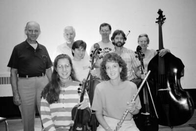 HSO 1992: front row: Maureen Sullivan, Karen Dilly (Yanson); back row: Tom Butler, Charles Kerr, Ruth Christensen, Glenn Christensen, Mark Welch, May Raila