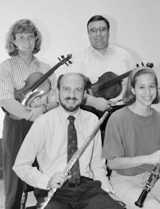HSO 1992 (Columbia residents): clockwise from upper left: Nita Walsh, John Blaisdell, Elizabeth Lipnick (Brock), Steve Haaser