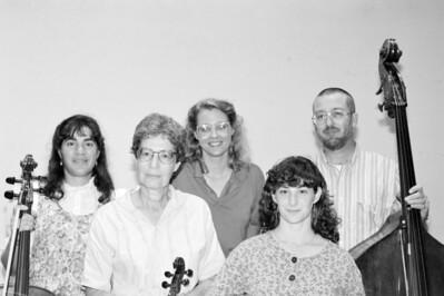 HSO 1992 (Pikesville residents): Sharon Aldouby, Helene Ber, Margot Stambler, Bonnie Smelkinson, ____ (bass)