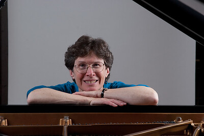 Edie Stern, General Manager of the Hopkins Symphony Orchestra, 2003-2011. This photo was taken in March 2010 (actually as a lighting test for the concerto competition winners photo shoot!)