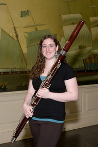Katie Fitzgibbon, bassoon -- 2008 HSO concerto competition (1st annual) winners and organizer