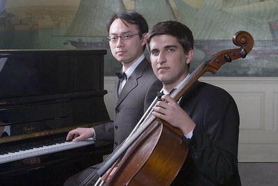 Mengyu Lan, piano and  Philip Wolf, cello -- 2009 Johns Hopkins Concerto Competition winners