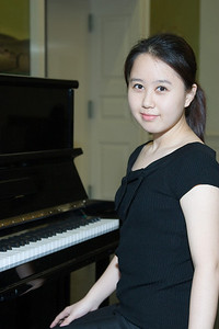 Ji Hea Hwang, piano -- 2008 HSO concerto competition (1st annual) winners and organizer