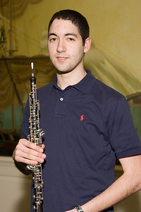Hernan del Aguila, oboe.  This competition was his idea and he chaired the process this first year. -- 2008 HSO concerto competition (1st annual) winners and organizer