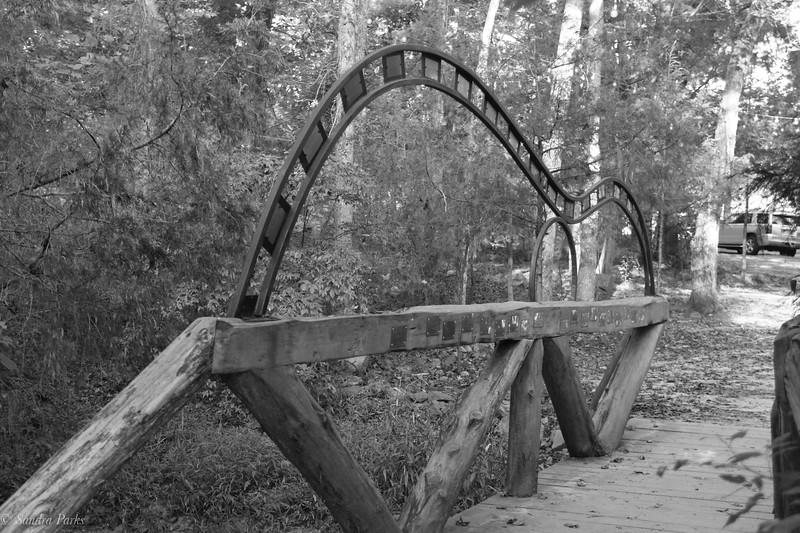 The guitar bridge