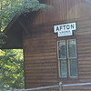 Old train station, Afton. Detour on the way home.