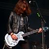 Rocker in leather