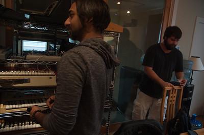 Hour Band in Studio Austin, TX - 12.14