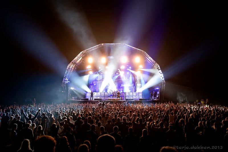 Volbeat @ Hove 2013