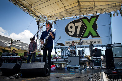 Hugo Chakrabongse of Hugo performs on May 28, 2011 during 97X Backyard BBQ at Vinoy Park in St. Petersburg, Florida