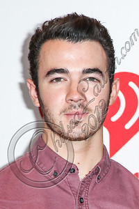 LAS VEGAS, NV - SEPTEMBER 22:  Singers Kevin Jonas arrive at iHeartRadio Music Festival press room at MGM Grand Garden Arena on September 22, 2012 in Las Vegas, Nevada.  (Photo by Chelsea Lauren/WireImage)
