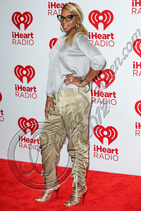LAS VEGAS, NV - SEPTEMBER 22:  Singer Mary J. Blige arrives at iHeartRadio Music Festival press room at MGM Grand Garden Arena on September 22, 2012 in Las Vegas, Nevada.  (Photo by Chelsea Lauren/WireImage)