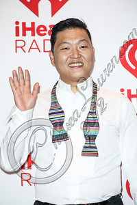 LAS VEGAS, NV - SEPTEMBER 21:  Singer / songwriter Psy arrives at iHeartRadio Music Festival press room at MGM Grand Garden Arena on September 21, 2012 in Las Vegas, Nevada.  (Photo by Chelsea Lauren/WireImage)