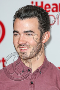 LAS VEGAS, NV - SEPTEMBER 22:  Singer Kevin Jonas arrive at iHeartRadio Music Festival press room at MGM Grand Garden Arena on September 22, 2012 in Las Vegas, Nevada.  (Photo by Chelsea Lauren/WireImage)