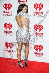 LAS VEGAS, NV - SEPTEMBER 22:  Actress / singer Kat Graham arrives at iHeartRadio Music Festival press room at MGM Grand Garden Arena on September 22, 2012 in Las Vegas, Nevada.  (Photo by Chelsea Lauren/WireImage)