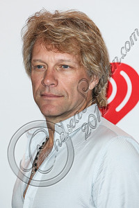 LAS VEGAS, NV - SEPTEMBER 21:  Musician Jon Bon Jovi arrives at iHeartRadio Music Festival press room at MGM Grand Garden Arena on September 21, 2012 in Las Vegas, Nevada.  (Photo by Chelsea Lauren/WireImage)