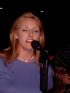 Kristin Kuba..my buddy Claudia Koal's daughter..Claudia talent has passed on to Kristin who is making her way into the area jazz scene