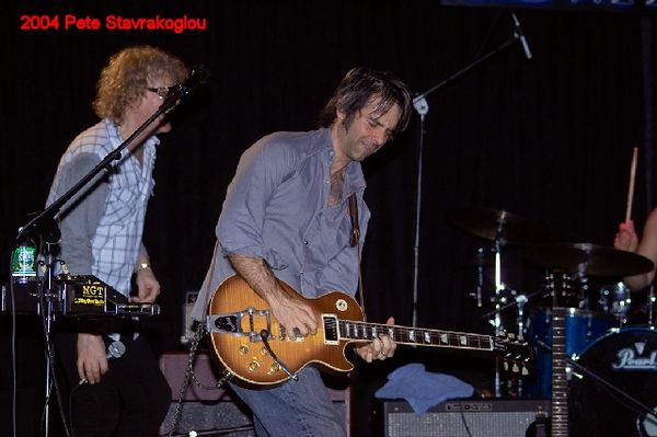 (L to R) Ian Hunter and Jack Petruzzelli