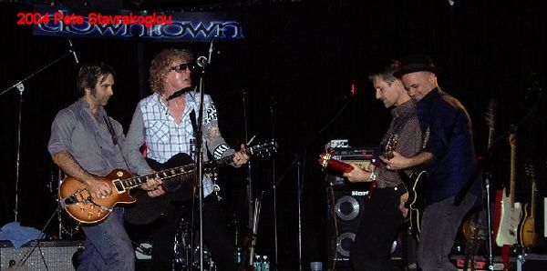 (L to R) Jack Petruzzelli, Ian Hunter, Graham Maby, and James Mastro