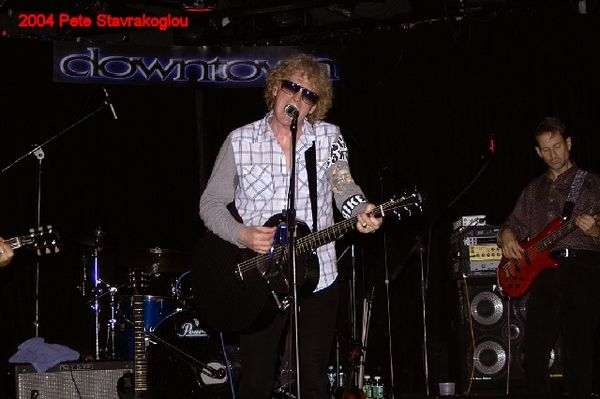 (L to R) Ian Hunter and Graham Maby