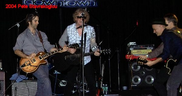 (L to R) Jack Petruzzelli, Ian Hunter, James Mastro, and Graham Maby