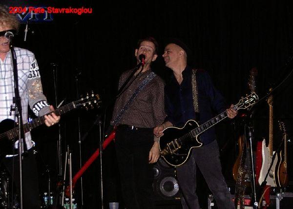 (L to R) Ian Hunter, Graham Maby, and James Mastro
